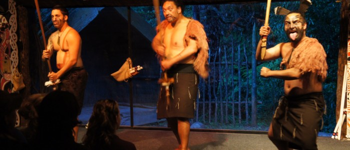 Maori for a Night: Haka, Hongi and Hangi in Tamaki Village