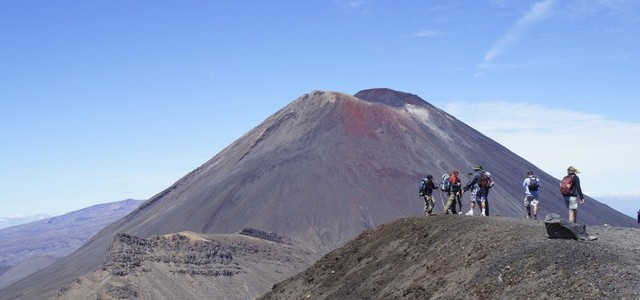 Taking on New Zealand's Tongariro Alpine Crossing